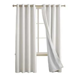 Deconovo 100 Percent Blackout Curtains with 3 Pass Energy Ef