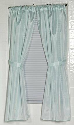 Carnation Home Fashions 100% Polyester Fabric Window Curtain