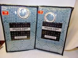 Times Square 2 Grommet Panels 54 x 95 One Panel in Each pkg.