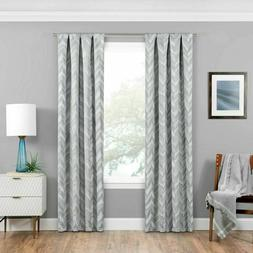 """Eclipse Haley Thermaweave Blackout Window 37"""" x 63"""" Curtain"""