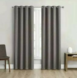 """Eclipse Absolute Zero 84"""" Blackout Curtains, 2-pack, Max The"""