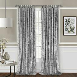 Achim Home Furnishing: Harper Cross-Cross Window Curtain Pan