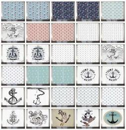 Anchor Curtains 2 Panel Set for Decor 5 Sizes Available Wind