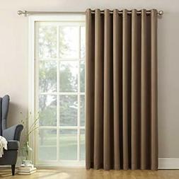 Sun Zero Barrow Energy Efficient Patio Door Curtain Panel, 1