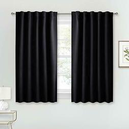 RYB HOME Bedroom Blackout Curtains Window Treatment Set Room