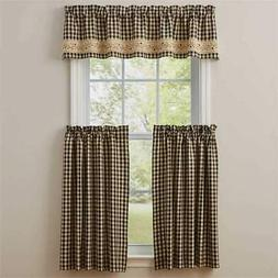 Park Designs - Berry Gingham Collection Curtains and Tableto