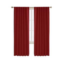 Deconovo Blackout Curtains Back Tab and Rod Pocket Thermal I