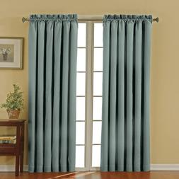 """ECLIPSE Blackout Curtains for Bedroom - Canova 42"""" x 95"""" Ins"""