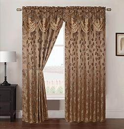 RT Designers Collection Brenda Jacquard 54 x 84 in. Rod Pock