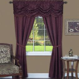 Achim Home Furnishing: Panache Burgundy Floral Traditional W