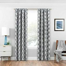 """ECLIPSE Room Darkening Curtains for Bedroom - Benchley 37"""" x"""