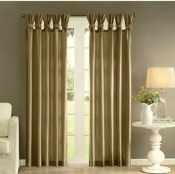 Madison Park Spice Curtains for Living Room, Transitional Cu