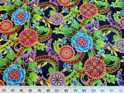 Fabric Quilting Cotton Legacy Studio Polynesia Master Medall