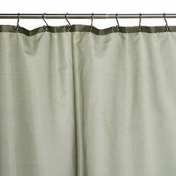 Carnation Home Fashions Fabric Shower Curtain Liner, 70-Inch