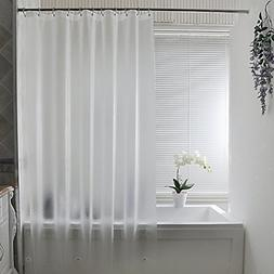 Frosted Shower Curtain Liner, Eva Extra Long Shower Curtain