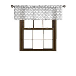 Bathroom and More Collection Gray and White Window Curtain V