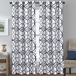H.VERSAILTEX Blackout Curtains for Bedroom 84 Inch Length -