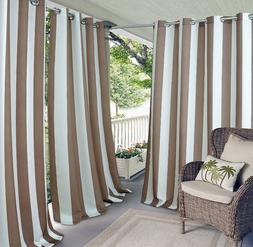 "Elrene Home Aiden Indoor/Outdoor Curtain Panel, 50"" x 95"""