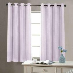 Jinchan Linen Textured Curtains Living Room Thermal Insulate
