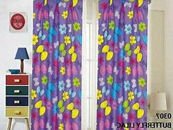 Sapphire Home Kids Girls & Boys Window Curtain Panels with t