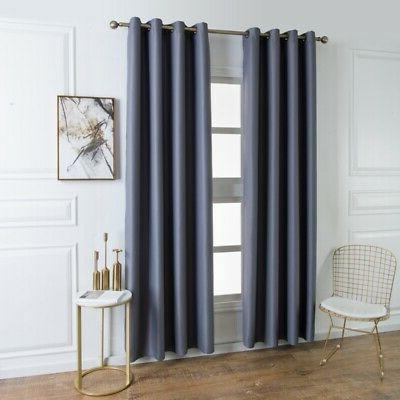Set Thermal Curtains for Room Bedroom