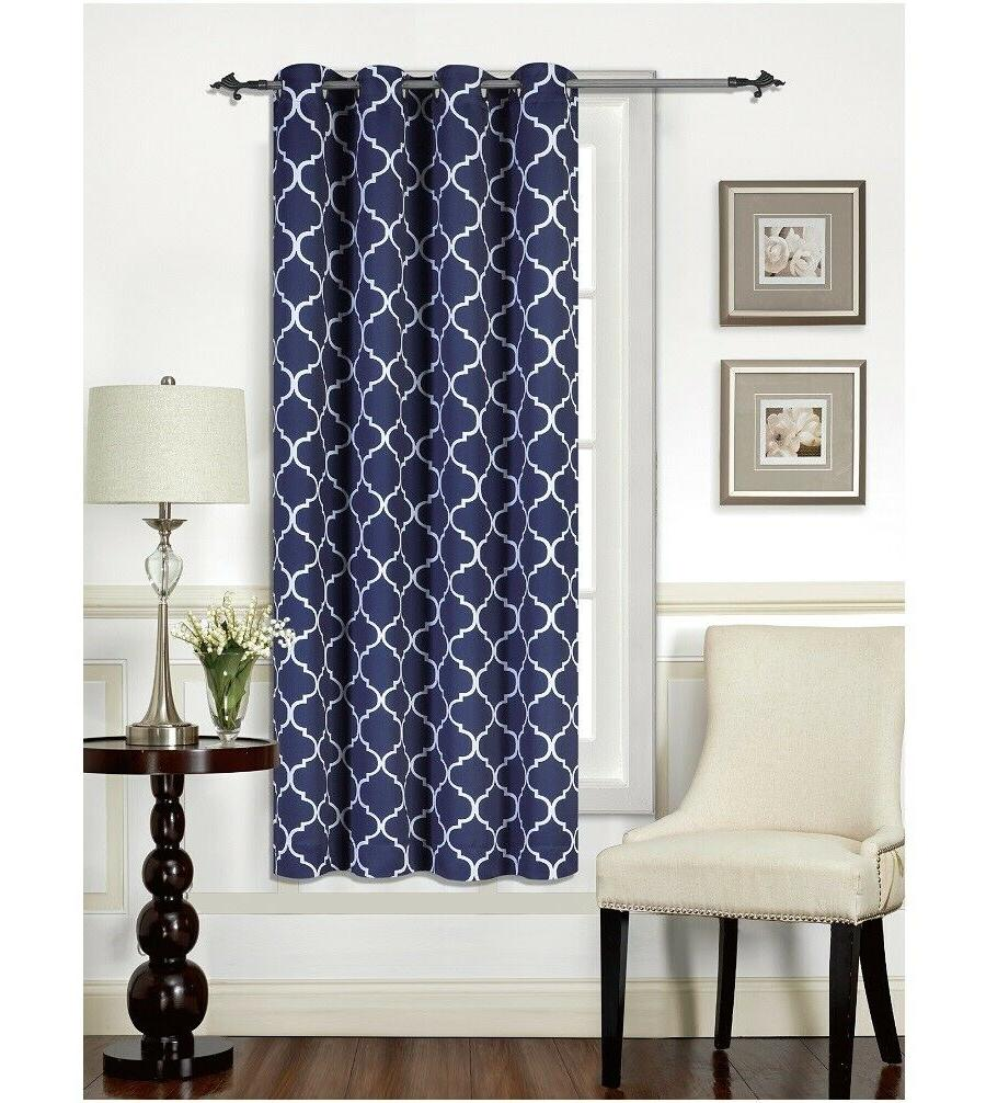 """Mellanni Curtains 52""""x63"""" Thermal Insulated w/"""
