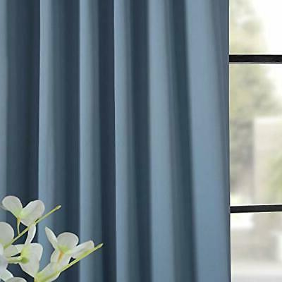 HPD HALF PRICE DRAPES BOCH-184220-108 Blackout Room Curtain, X 108,