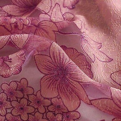US Peony Curtains Curtains Sheer Tulle Curtain