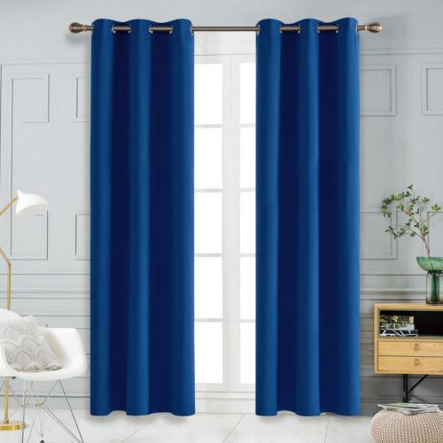 room darkening curtain grommet thermal insulated curtains