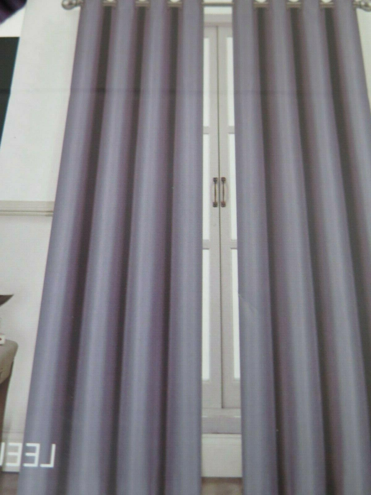 sunblock blackout Curtains Panel lined 54in x
