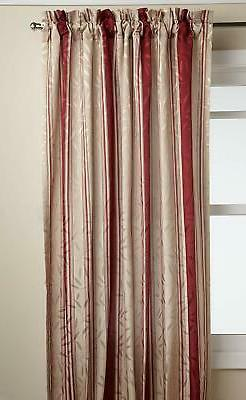 whitfield stripe curtain panel 52 wide by