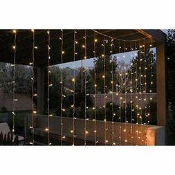 LED String Curtain Lights 9 Ft Perfect For Bedroom, Patio, A