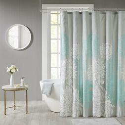 Madison Park Essentials Maible Printed Floral Shower Curtain