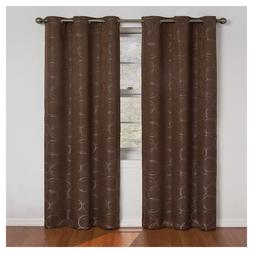 MERIDIAN THERMABACK BLACKOUT WINDOW CURTAIN PANEL By ECLIPSE