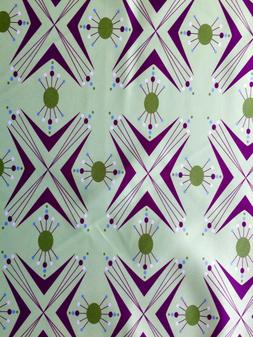mid century modern design curtains by 55