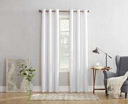 "Set of 1 Grommet-Top Window Curtain Panels - 48"" X 84"" Wide"