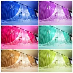 New Beautiful Colors Backdrop Drapes for Wedding Party Stage