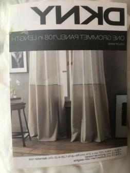 NEW DKNY One 108 inch x 50 inch window Grommet Panel Color B