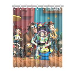 Printed Durable Toy Story Window Curtain Blackout Curtain 52