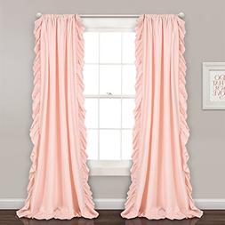 Lush Decor Reyna Window Curtains Panel Set for Living Room,