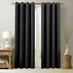 Room Darkening Curtain for Living Room Moderate Blackout Win