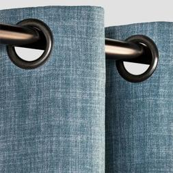 "Eclipse Rowland Blackout Window Curtain Grommet Top 52"" x 63"