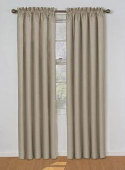 Eclipse Samara Blackout Energy-Efficient Curtain-Latte-42Wx