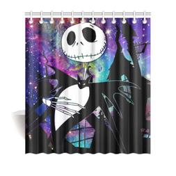 The Nightmare Before Christmas Fabric Durable Shower Curtain