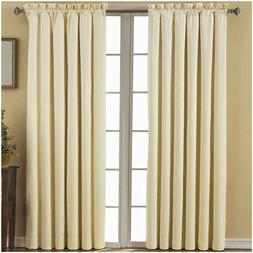 Eclipse Thermaback Blackout Window Curtain Panels 42 x 63 on