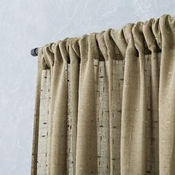 jinchan Voile Curtains for Living Room 84 Inch Long Checkere