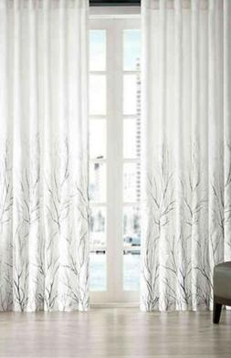 Madison Park White Curtains For Living room, Transitional Ro