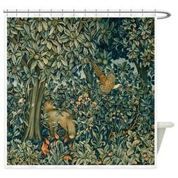 CafePress William Morris Greenery Shower Curtain