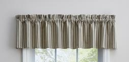window curtain valance dover by unlined dark